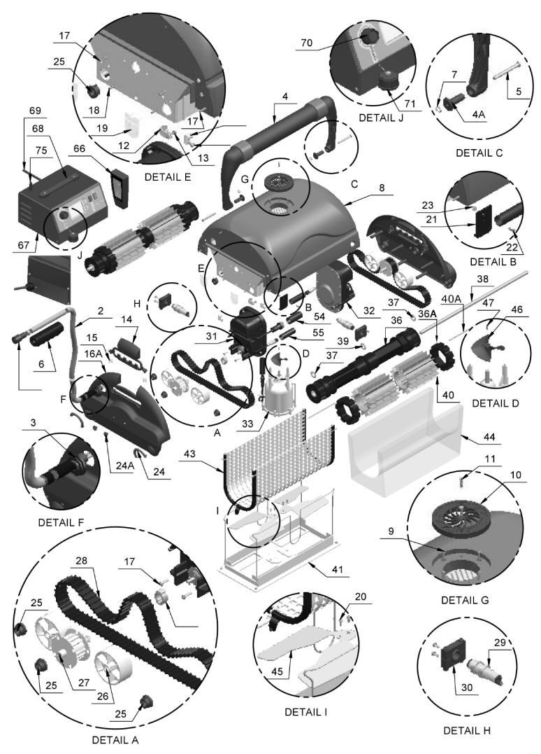 Aquamax Magnum Parts
