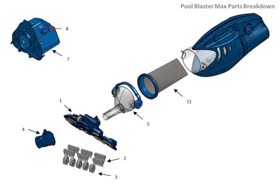 Water Tech Pool Blaster Max Amp Cg Parts Aquaquality Pools