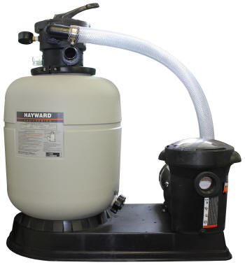Hayward Sand Filter & Super Pump Set-Up S166T92S