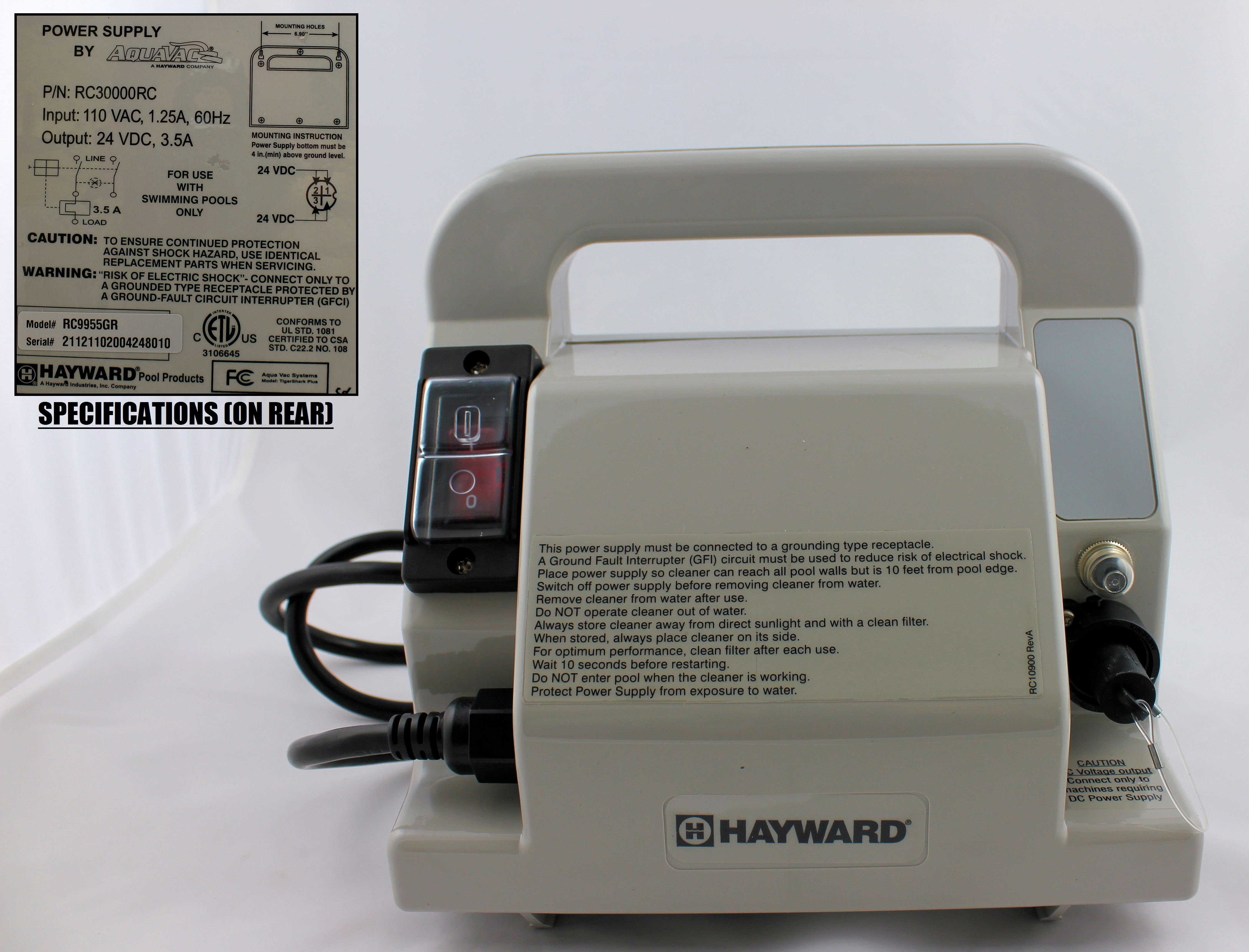 Hayward Tigershark Parts Aquaquality Pools Amp Spas Inc