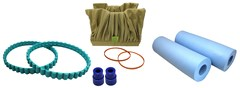 Tomcat Replacement Blue Diamond Pool Cleaner Parts & Repairs - PVA Brushes (Pair)