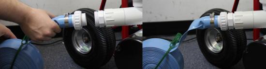 Tomcat Top Gun Pro 1 5 Hp Commercial Portable Pool Vacuum