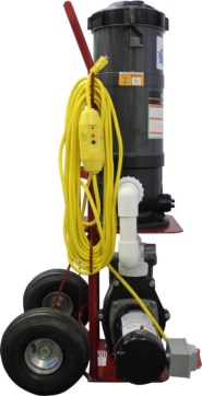 Top Gun Maverick Portable Pool Vacuum Cleaner W Gunite