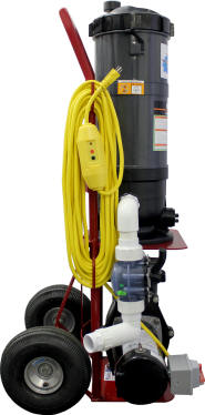 Tomcat Top Gun Phoenix Portable Pool Vacuum System - Vacuum Your Pool In 30 Minutes