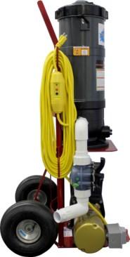 Top Gun Pro Portable Pool Vacuum Cleaner 1 5 Hp Hayward