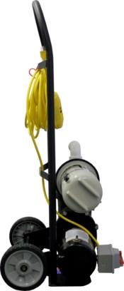 Top Gun Sidewinder Portable Pool Vacuum Cleaner W Gunite Head