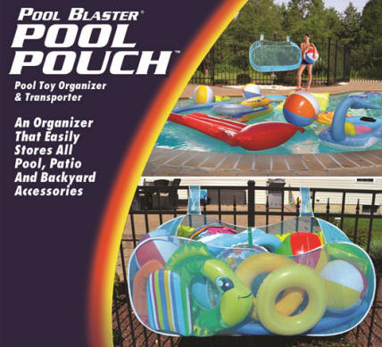 Pool Blaster Pool Pouch : Pool Float & Toy Organization System